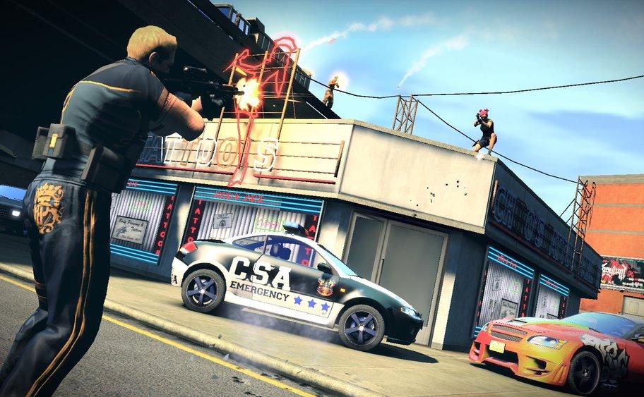 APB - Reloaded: Als Enforcer müsst ihr nicht unbedingt eine Uniform tragen oder ein Polizeiauto fahren
