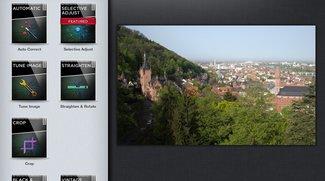 Tutorial iPad-Bildbearbeitung: Bereiche korrigieren