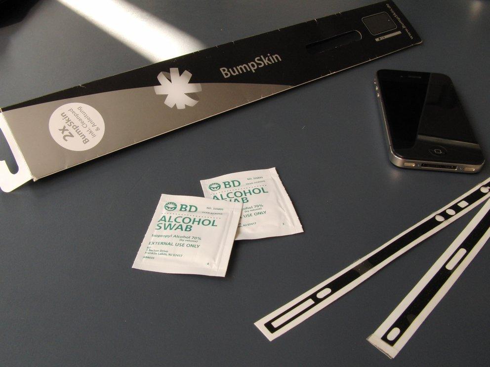 BumpSkin: iPhone-Sticker sorgt für mehr Farbe