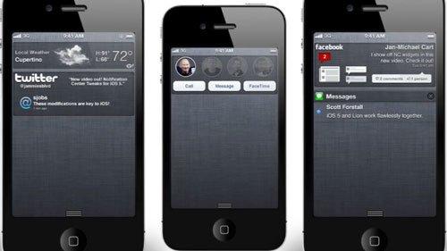 iOS 5 Konzeptvideo Notifications