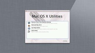 Lion Recovery Disk Assistant: Offizielles Apple-Tool erstellt USB-Stick für Fall der Fälle