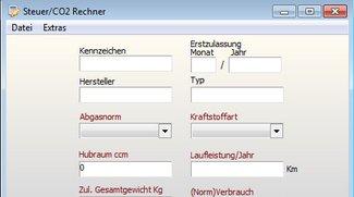 Steuer/CO2-Calculator Download