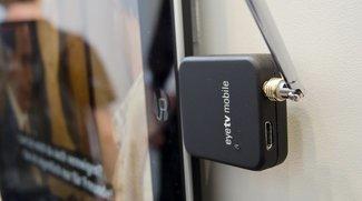 Günstiger TV-Empfänger für iPad, iPhone-Halterung für das Fahrrad & USB-Akku