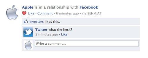 Facebook und Apple