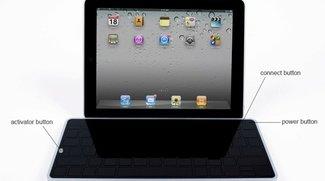 Elegante Bluetooth-Tastatur fürs iPad