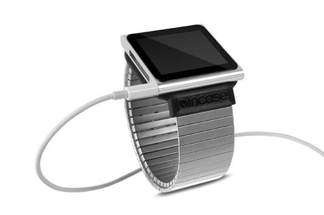 Flex Wristband: Metall-Armband für iPod nano G6 von Incase