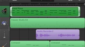 GarageBand für iPhone &amp&#x3B; iPod touch, neue Funktionen für iPad