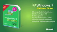 Betthupferl: Windows 7 Ultimate Pirate inklusive Trojaner 4.0