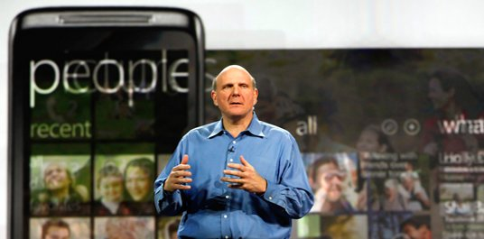 """Steve Ballmer: Apple nur auf Tablet-Markt kein """"Low-Volume Player"""""""