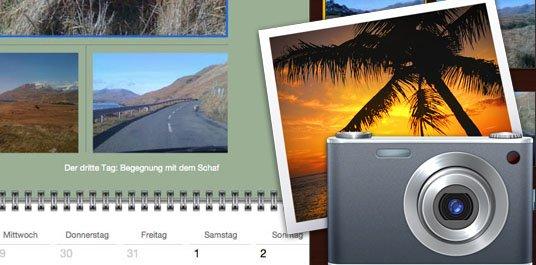 iPhoto: Bildkalender erstellen