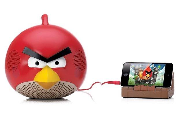 3 Angry Birds Lautsprecher im Adventskalender