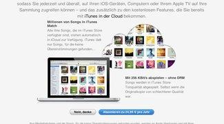 iTunes Match startet weltweit