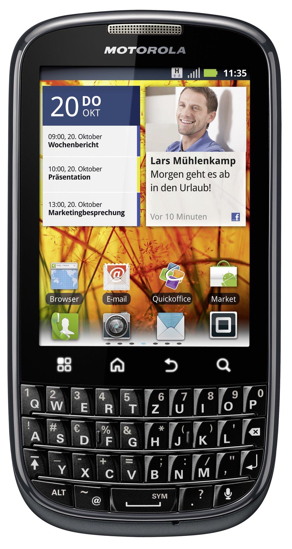 Motorola PRO+ vorgestellt