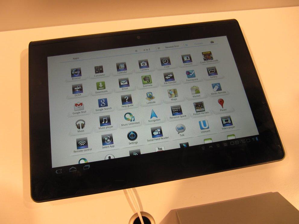 IFA 2011: Sony Tablet S Hands-On [Update: Jetzt mit Video!]