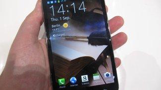 IFA 2011: Samsung Galaxy Note Hands-On