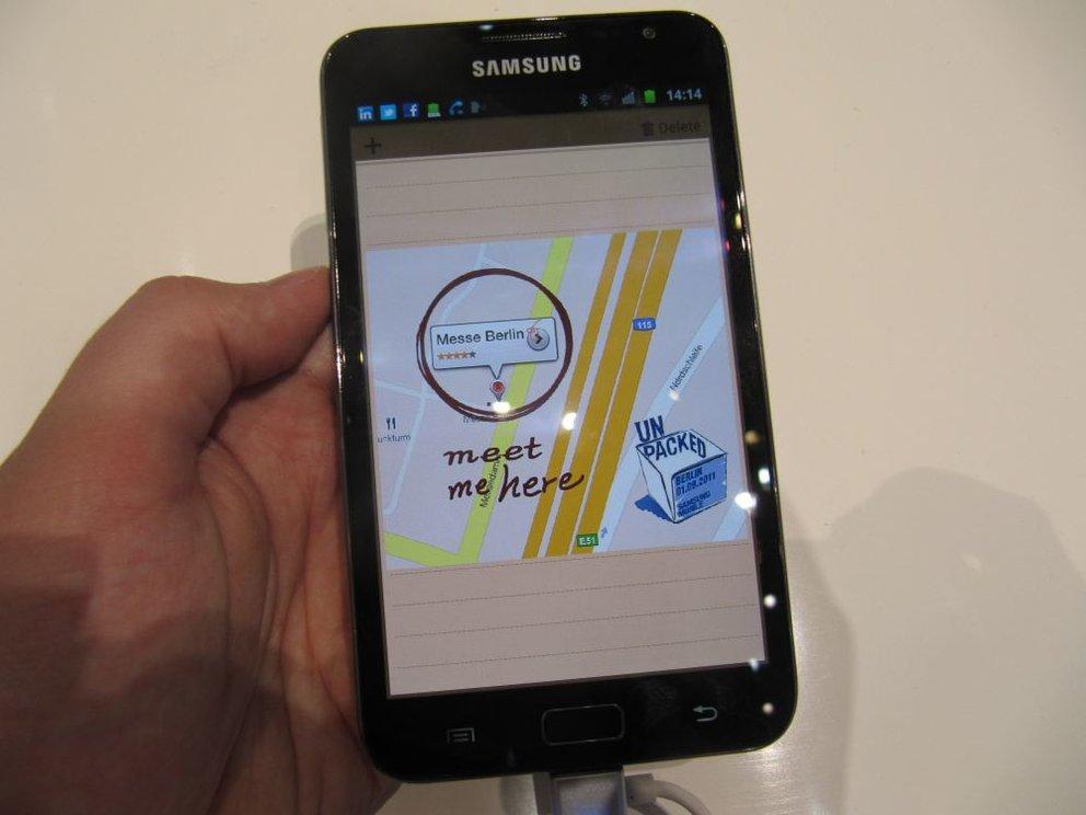 Samsung Galaxy Note mit Vodafone-Branding: Android 4.0-Update wird verteilt