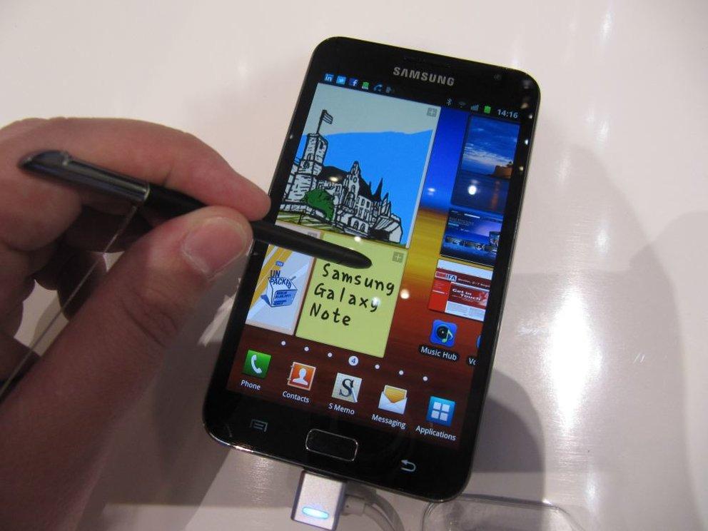 Samsung Galaxy Note: In 5 Monaten wurden 5 Millionen Einheiten verschickt