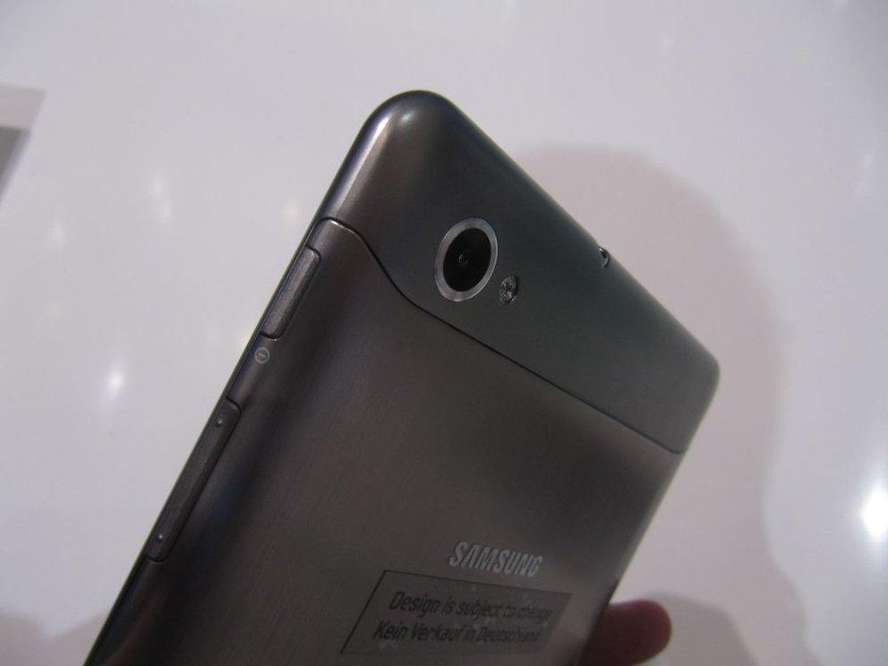 IFA 2011: Samsung Galaxy Tab 7.7 von IFA verbannt