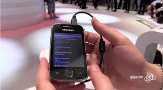 IFA 2011: Samsung Galaxy Y Hands-On
