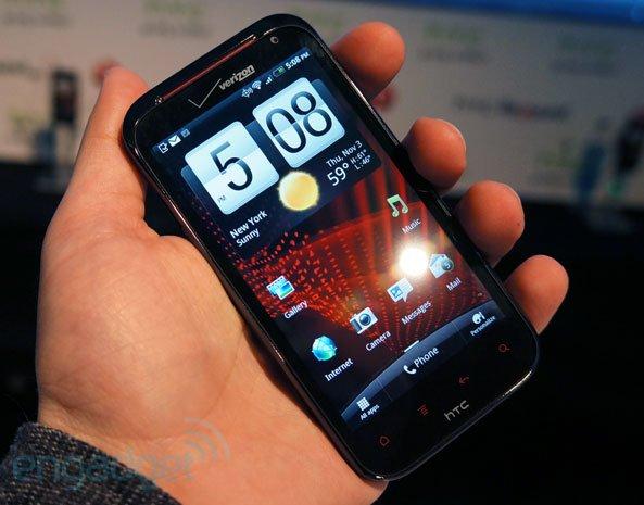 HTC Rezound im Hands-On von Engadget