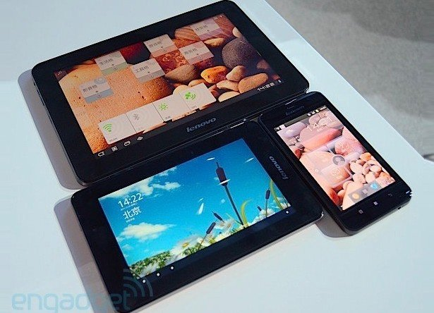 Lenovo stellt drei neue LePad Tablets vor