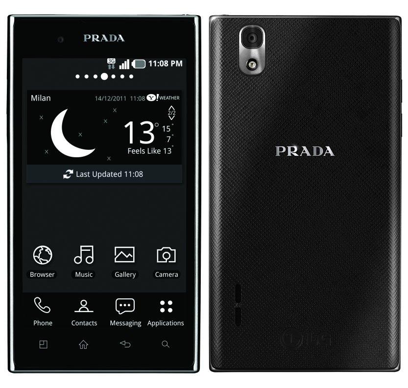 LG und PRADA stellen das PRADA phone by LG 3.0 vor
