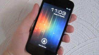 Galaxy Nexus: Testbericht zur neuen Android-Referenz