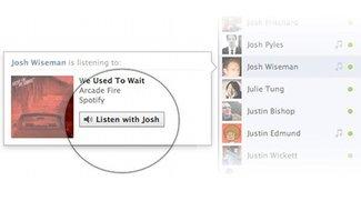 Facebook Listen With Friends: Neuer Musikservice ermöglicht gemeinsames Streamen