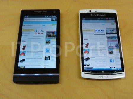 Sony Ericsson Xperia Arc HD: Neue Bilder und Infos