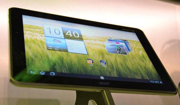 CES 2012: NVIDIA zeigt Acer Iconia Tab A510 und ZTE 7 mit Tegra 3 und Android 4.0