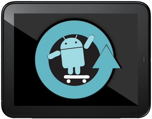 HP TouchPad mit CyanogenMod 9