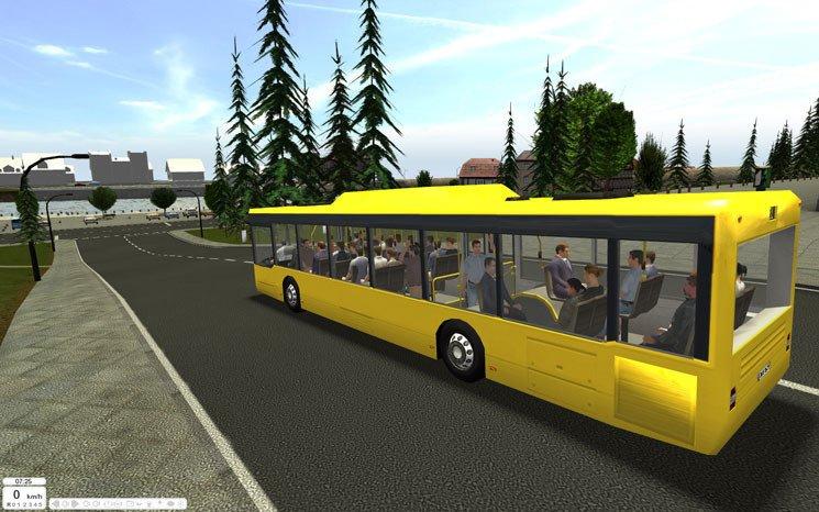 Bus-Simulator 2009: Damit eure Fahrgäste pünktlich ans Ziel kommen, tilgt der aktuelle Patch die Abstürze und andere Fehler