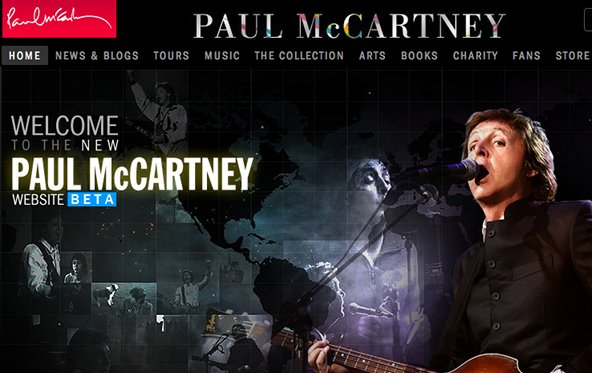 Paul McCartney öffnet seine digitale Bibliothek, neues Album Anfang Februar
