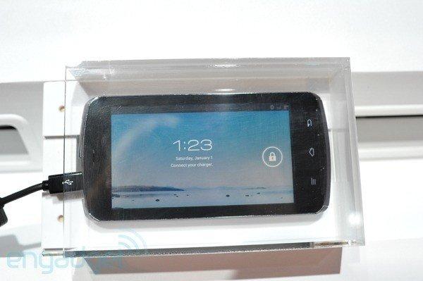 Fujitsu auf der CES 2012: Quad-Core Smartphone mit Tegra 3