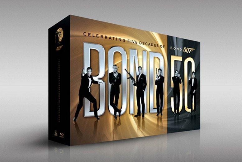Bond 50 – alle 007-Filme in einer BD-Box!