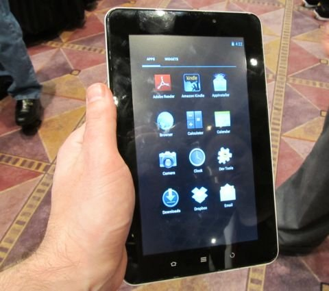 ViewSonic ViewPad E70 - Günstiges Android 4.0-Tablet