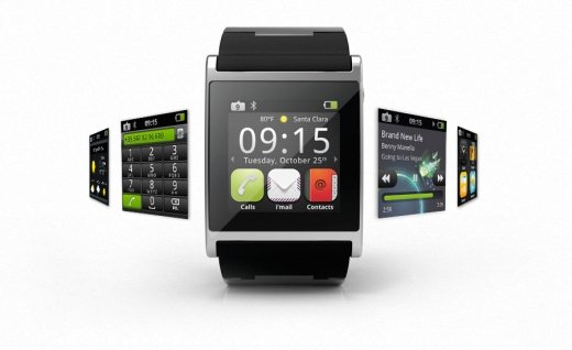 Armbanduhren mit Android-Touch-Display
