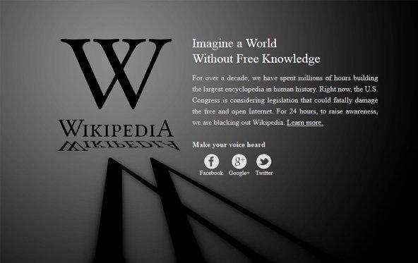 SOPA und PIPA - Unternehmen protestieren gegen Zensurgesetze im Netz