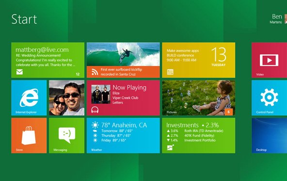 Neue Windows 8 Screenshots der Beta-Version gesichtet