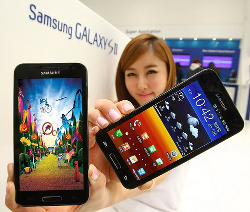 Samsung Galaxy S2 HD LTE im Benchmark-Test