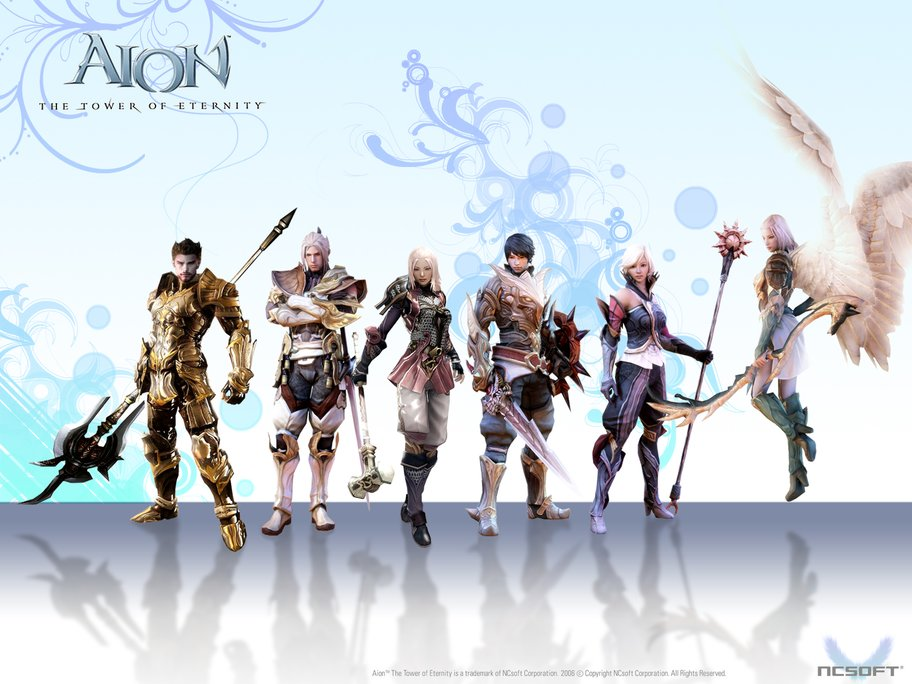 Aion-The-Tower-of-Eternity-Roster-Wallpaper