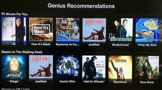 Apple TV jetzt mit Genius-Empfehlungen für Filme und TV-Serien