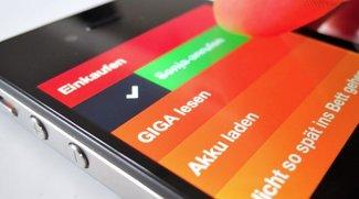 iPhone-Apps Clear und Rechner: Gestensteuerung 2.0