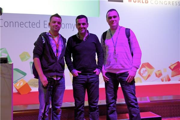 MWC 2012 - Hugo Barra Product Management Director