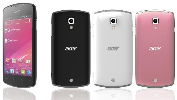 Acer Liquid Glow - Android 4.0 und NFC für den kleinen Geldbeutel