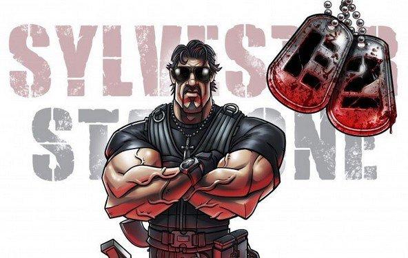 The Expendables 2 – Stallone & Co. als Comicfiguren