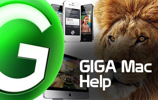 GIGA Mac Help Folge 1: Fenster, Symbole, shake to undo im Video