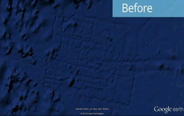 Google Earth lässt Atlantis nochmal untergehen