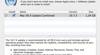 Apple-Updates: OS X Lion 10.7.3 nur noch als Combo-Update - neues Snow-Leopard-Sicherheitsupdate