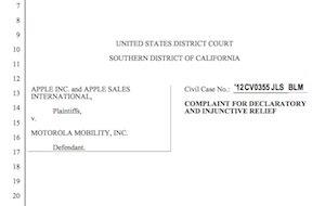 Motorola-Klage in Deutschland ist Fall für US-Gericht